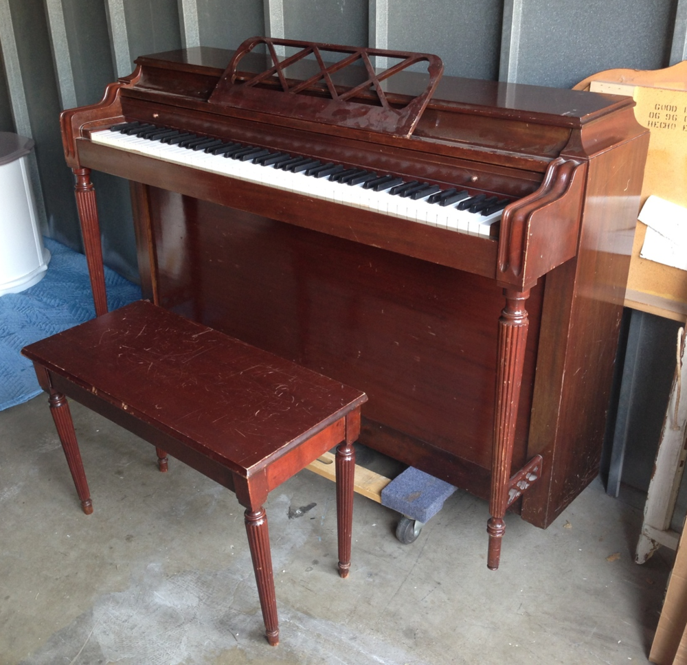 The Little Red Piano That Could